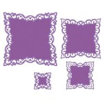 Spellbinders - Classic Collection - Nestabilities Die - Labels 42 Decorative Elements