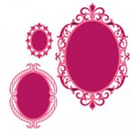 Spellbinders - Classic Collection - Nestabilities Die - Fleur de Elegance