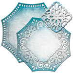 Spellbinders - Nestabilities Collection - Die - Labels Forty Six - Decorative Element