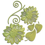 Spellbinders - Shapeabilities Collection - Die - Romantic Blooms Two