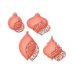 Spellbinders - Holiday Collection - Shapeabilities Die - Heirloom Ornaments