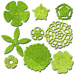 Spellbinders - Shapeabilities Collection - Die - Tudor Rose Collection