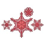 Spellbinders - Holiday Collection - Christmas - Shapeabilities Die - Create A Flake Six