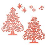 Spellbinders - Holiday Collection - Christmas - Shapeabilities Die - 3D Christmas Tree