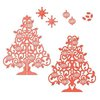 Spellbinders - Holiday Collection - Christmas - Shapeabilities Die - 3D Christmas Tree