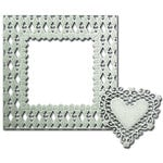 Spellbinders - Shapeabilities Collection - Die - Decorative Frames - Loving' Diamonds