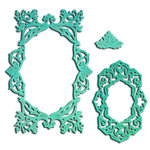 Spellbinders - Nestabilities Collection - Die - Labels Forty Five - Decorative Accent