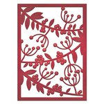 Spellbinders - Holiday Collection - Die - Card Creator - Mistletoe Card Front