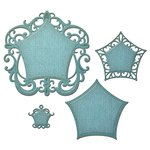 Spellbinders - Nestabilities Collection - Die - Label Forty Eight - Decorative Elements