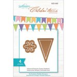 Spellbinders - Celebrations Collection - Die - Enhanced Pennant