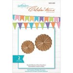 Spellbinders - Celebrations Collection - Die - Rosette Blooms