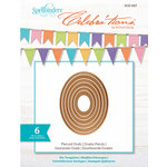 Spellbinders - Celebrations Collection - Die - Pierced Ovals