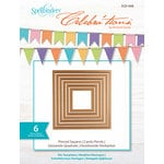 Spellbinders - Celebrations Collection - Die - Pierced Squares