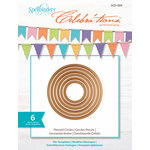 Spellbinders - Celebrations Collection - Die - Pierced Circles