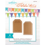 Spellbinders - Celebrations Collection - Die - Build-a-Tag One