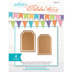Spellbinders - Celebrations Collection - Die - Build-a-Tag Two