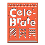 Spellbinders - Celebrations Collection - Die - Cele-brate Plate