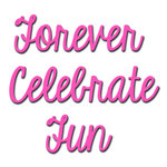 Spellbinders - Celebrations Collection - Die - Fun Sentiments