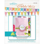Spellbinders - Celebrations Collection - Embossing Folders - Rosette Wall