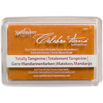 Spellbinders - Celebrations Collection - True Color Fusion Stamp Pad - Totally Tangerine