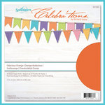 Spellbinders - Celebrations Collection - 12 x 12 Paper Pack - Odacious Orange