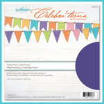 Spellbinders - Celebrations Collection - 12 x 12 Paper Pack - Pretty Plum