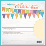 Spellbinders - Celebrations Collection - 12 x 12 Paper Pack - Cuddle Cream