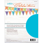 Spellbinders - Celebrations Collection - 8.5 x 11 Paper Pack - Assorted Solid