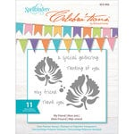 Spellbinders - Celebrations Collection - Clear Acrylic Stamps - My Friend