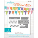 Spellbinders - Celebrations Collection - Clear Acrylic Stamps - Tape It