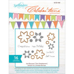 Spellbinders - Celebrations Collection - Die and Clear Acrylic Stamp Set - Just Because