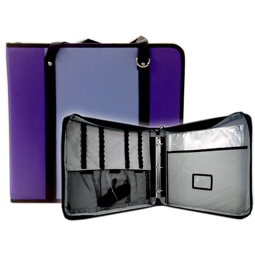 ScrapRack - TravelPack Storage Tote - Purple and Lavender