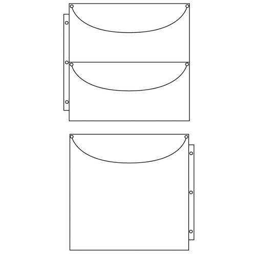 ScrapRack - Multicraft Storage System - Double Sided Duo 2 x 1 - 10 Pack