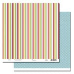 Scenic Route Paper - Garden Grove Collection - 12 x 12 Double Sided Paper - Emerson Ave, CLEARANCE