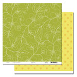 Scenic Route Paper - Garden Grove Collection - 12 x 12 Double Sided Paper - Cypress Street, BRAND NEW