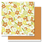 Scenic Route Paper - Garden Grove Collection - 12 x 12 Double Sided Paper - Brookhurst Street, CLEARANCE