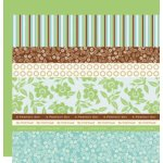 Scenic Route Paper - Designer Scrap Strips - Double Sided Cardstock - Charlotte Strip Combo 3, CLEARANCE