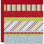 Scenic Route Paper - Designer Scrap Strips - Double Sided Cardstock - North Shore Strip Combo 1, CLEARANCE