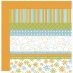 Scenic Route Paper - Designer Scrap Strips - Double Sided Cardstock - North Shore Strip Combo 3