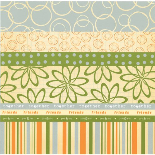 Scenic Route Paper - Designer Scrap Strips - Double Sided Cardstock - Hampton 3