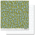Scenic Route Paper - Appleton Collection - 12x12 Double Sided Paper - 2nd Street - School, CLEARANCE