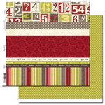 Scenic Route Paper - Sonoma Collection - 12 x 12 Double Sided Paper - Scrap Strip 3, CLEARANCE