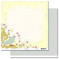 Scenic Route Paper - Laurel Collection - 12x12 Doublesided Cardstock - Baywood Lane, CLEARANCE