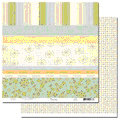 Scenic Route Paper - Laurel Collection - 12x12 Doublesided Cardstock - Scrap Strip 1, CLEARANCE