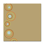 Scenic Route Paper - Ashville Collection - 12x12 Paper - Kraft Rings, CLEARANCE