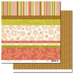 Scenic Route Paper - Sumner Collection - 12x12 Paper - Scrap Strip 3