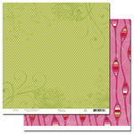 Scenic Route Paper - Loveland Collection - Valentine's Day - 12x12 Double Sided Paper - Loveland Jade Drive