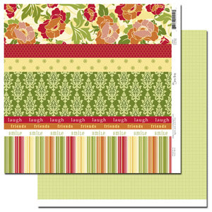 Scenic Route Paper - Providence Collection - 12x12 Double Sided Paper - Scrap Strip