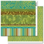 Scenic Route Paper - Grafton Collection - 12x12 Double Sided Paper - Scrap Strip 2, CLEARANCE