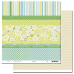 Scenic Route Paper - Lynden Collection - Easter - 12x12 Double Sided Cardstock - Lynden Scrap Strip